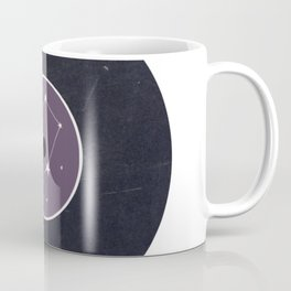Vinyl Record Star Sign Art   Libra Coffee Mug