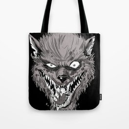 wolfy black variant Tote Bag