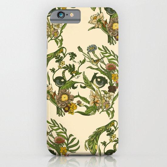 Botanical Pug iPhone & iPod Case