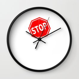 Stop Gun Violence Wall Clock