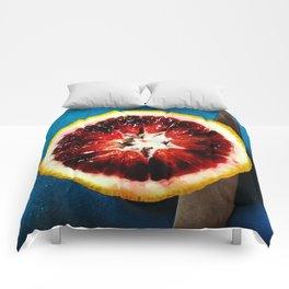 Blood Orange Comforters