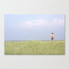 Ocean Stand Canvas Print
