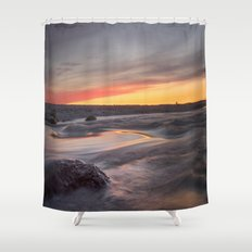 Sound of the sea Shower Curtain