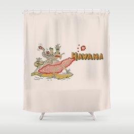 Havana - Warm Shower Curtain