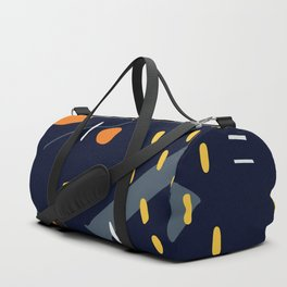 Colorful Abstract Doodling Duffle Bag
