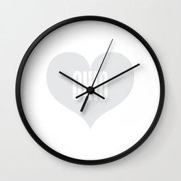 Ohio Love Wall Clock