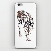monster hunter iPhone & iPod Skins featuring Hunter by Stevyn Llewellyn