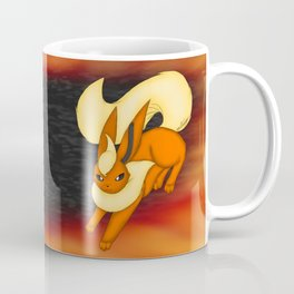 Flames of fire Coffee Mug
