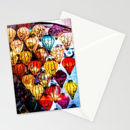 Lanterns of Hoi An, Vietnam I Stationery Cards