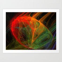 ifrit Art Print