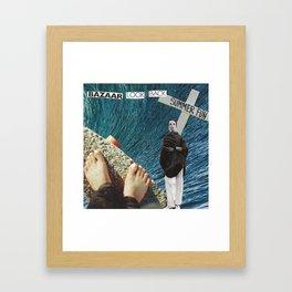 'GOODBYE SUMMER FUN' Framed Art Print