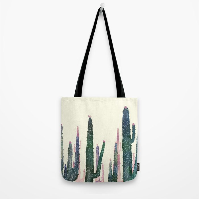 cactus water color Tote Bag