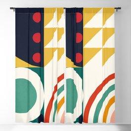 Roud Flow No. 10 Blackout Curtain