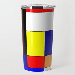 Mondriaan #9 Travel Mug
