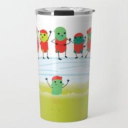 Cucumbers to Pickles Travel Mug