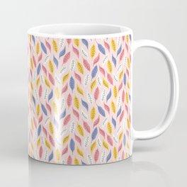 Falling Autumn Leaves Coffee Mug