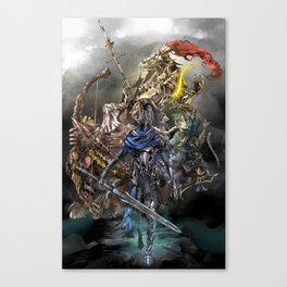 Dark Souls Knights of Gwyn Canvas Print