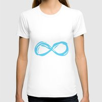 fault in our stars T-shirts featuring Fault In Our Stars - Infinity by tangofox