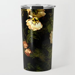 Floral Night III Travel Mug