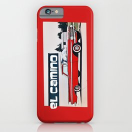 (The Back is Where You) EL CAMINO iPhone Case