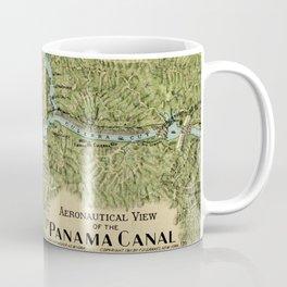 Vintage Map of The Panama Canal (1911) Coffee Mug