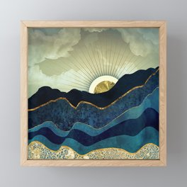 Post Eclipse Framed Mini Art Print