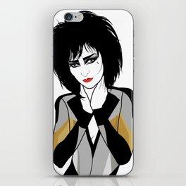 Siouxsie Sioux iPhone Skin
