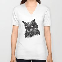 howl V-neck T-shirts featuring HOWL by Le Cabinet