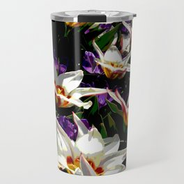 Tulips & Crocuses Travel Mug
