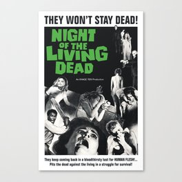 Night of the Living Dead Canvas Print