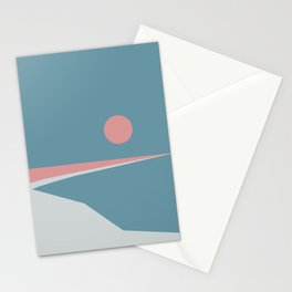 Sunset at Newton Stationery Cards