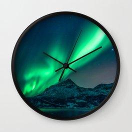 Aurora Borealis (Northern Lights) Wall Clock