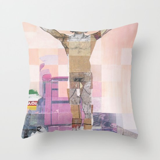 Caster Semenya's Gender Test Throw Pillow