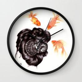 Hair Sequel IV Wall Clock