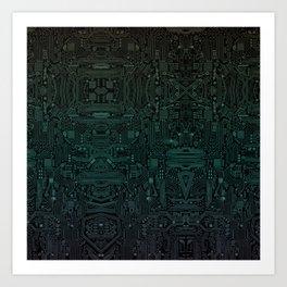 Circuitry Details Art Print