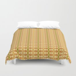 Queen MEMO Duvet Cover