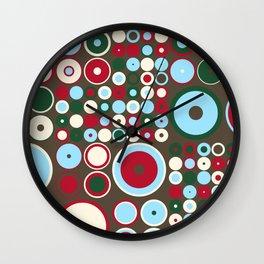 Mistlesnow Recursive Dots and Circles Wall Clock