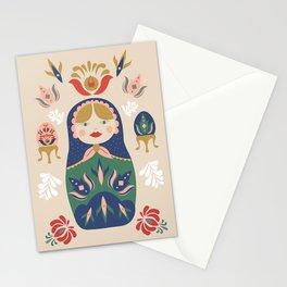 Matryoshka Dolls Stationery Cards