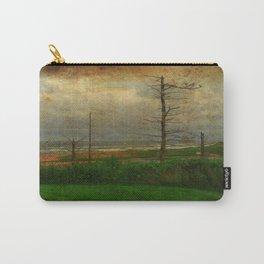 Landscape   Desolate Beach   Stormy Seascape   PEI Canada   Nadia Bonello Carry-All Pouch
