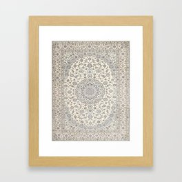 Bohemian Farmhouse Traditional Moroccan Art Style Texture Framed Art Print