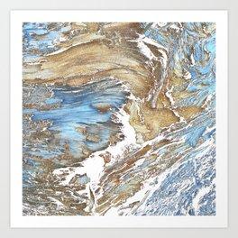 Woody Silver Art Print