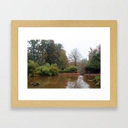 The Water Garden Framed Art Print