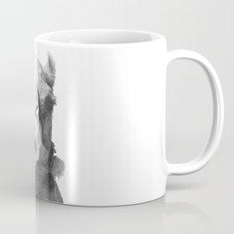 Black and White Camel Portrait Coffee Mug