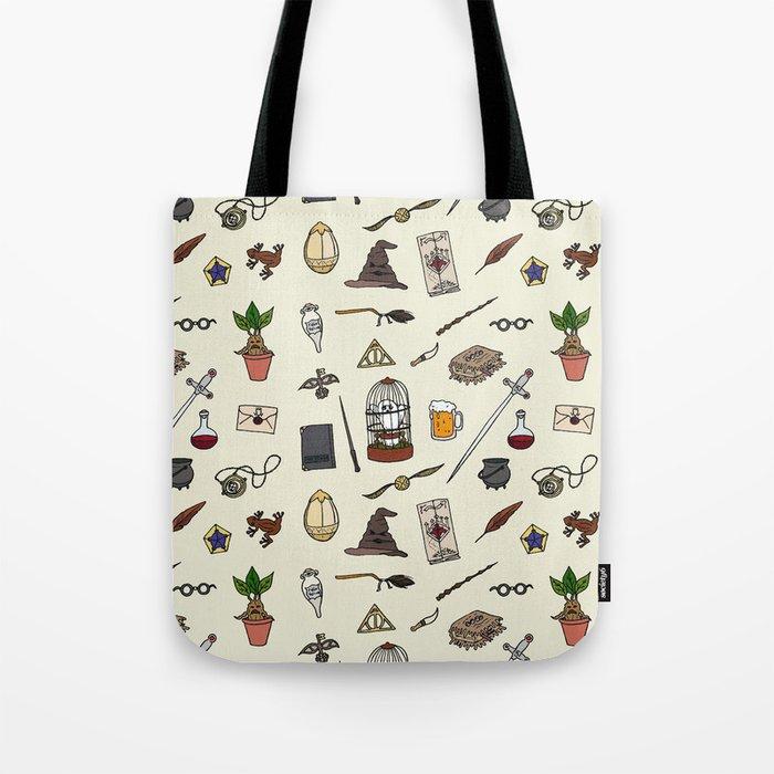Harry Pattern Tote Bag