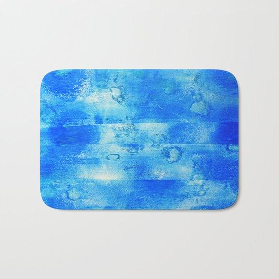 Blue Blue Blue Bath Mat