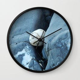Stone on the Rocks Wall Clock