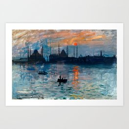 Istanbul Skyline 5 Art Print