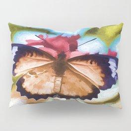 Beautiful Monarch Butterfly Pillow Sham