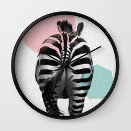 Zebra 01 Wall Clock