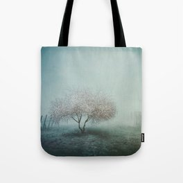 Blurred Hope Tote Bag
